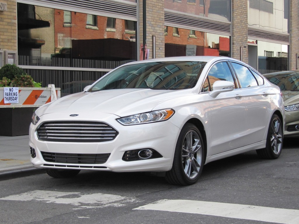 2013 Ford Fusion, New York City