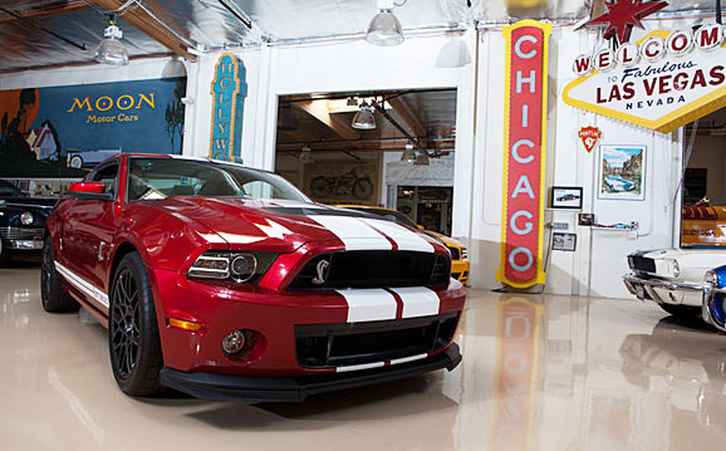 2013 Ford Mustang Shelby GT500 Driven By Jay Leno: Video
