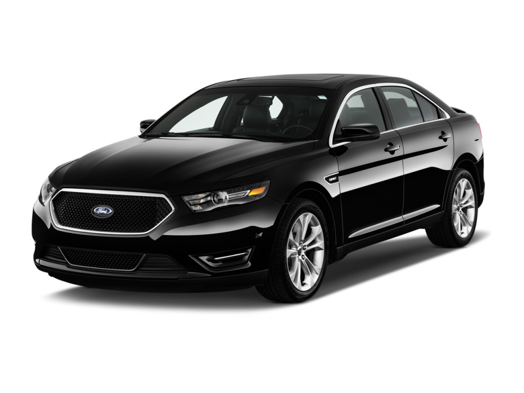 2013 Ford Taurus 4-door Sedan SHO AWD Angular Front Exterior View