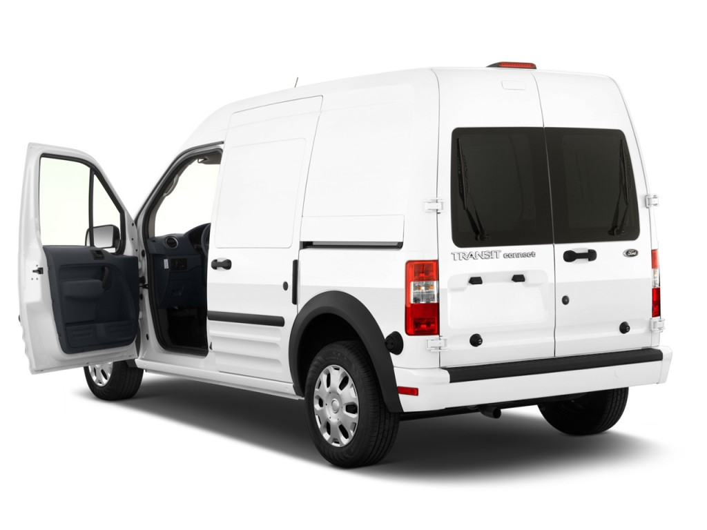 Image 2013 ford transit connect 114 6 xl w o side or for Back door with window that opens