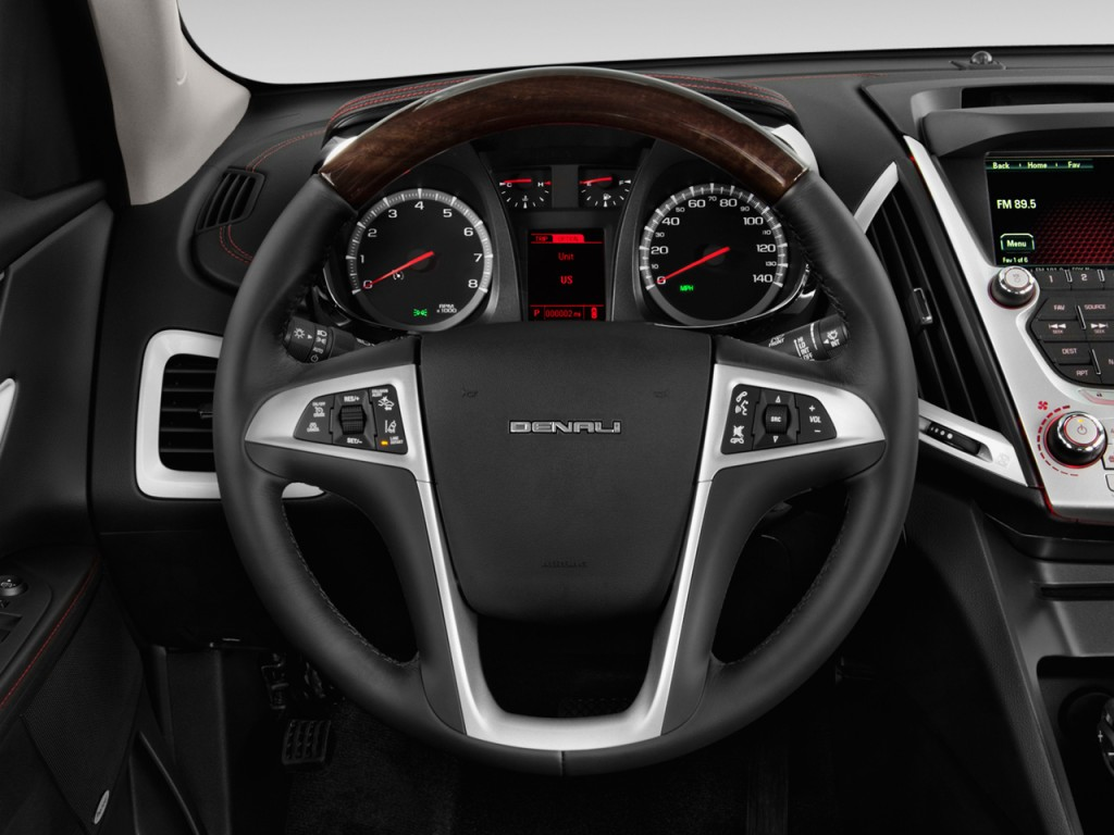 image 2013 gmc terrain fwd 4 door denali steering wheel. Black Bedroom Furniture Sets. Home Design Ideas