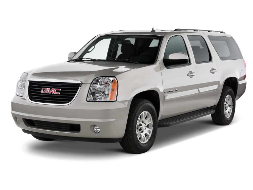 2013 GMC Yukon XL 2WD 4-door 1500 SLT Angular Front Exterior View