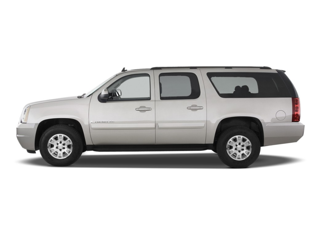 image 2013 gmc yukon xl 2wd 4 door 1500 slt side exterior. Black Bedroom Furniture Sets. Home Design Ideas