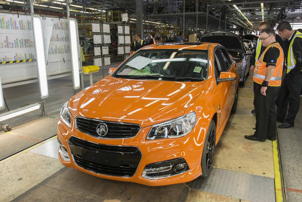 2013 Holden Commodore production