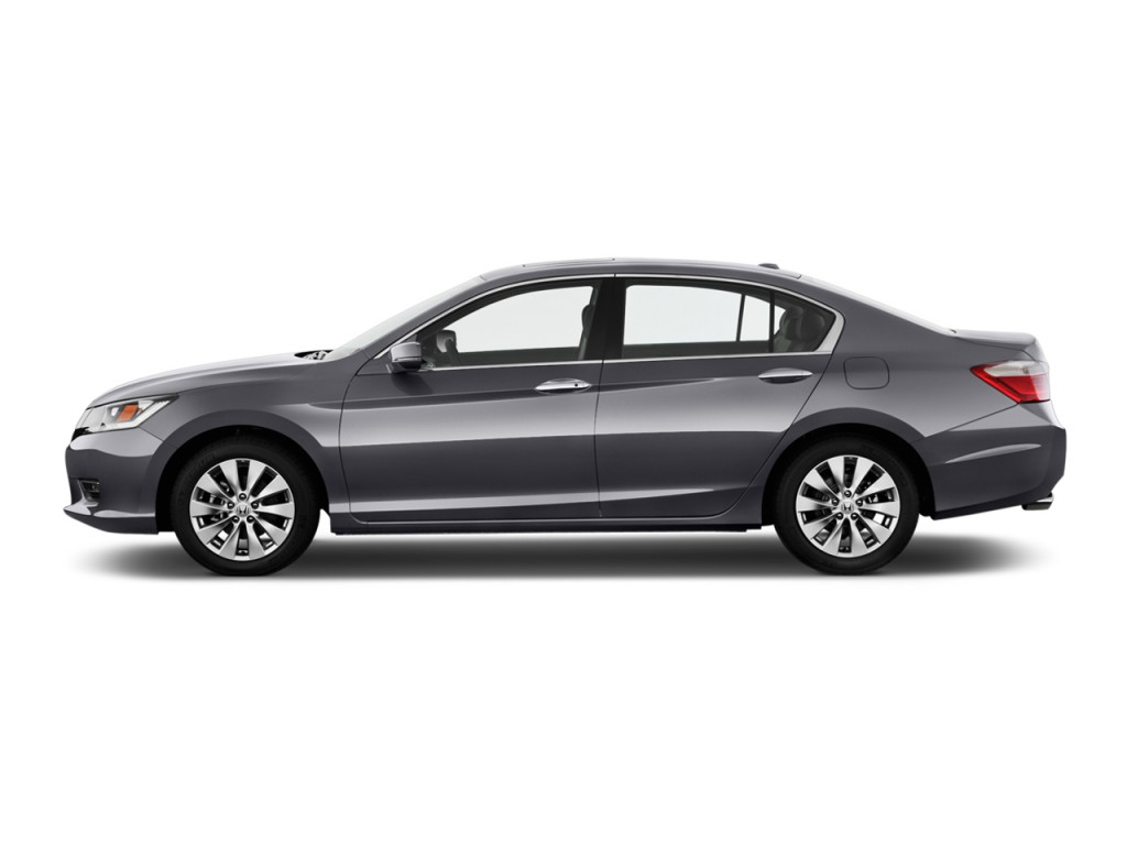 Image 2013 honda accord sedan 4 door v6 auto ex l side exterior view size 1024 x 768 type for Honda accord used 2013