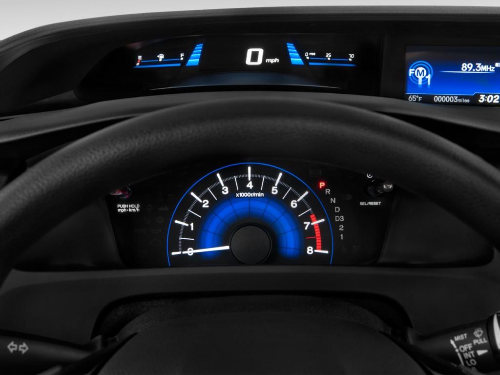 Image 2013 Honda Civic 4 Door Auto Ex Instrument Cluster