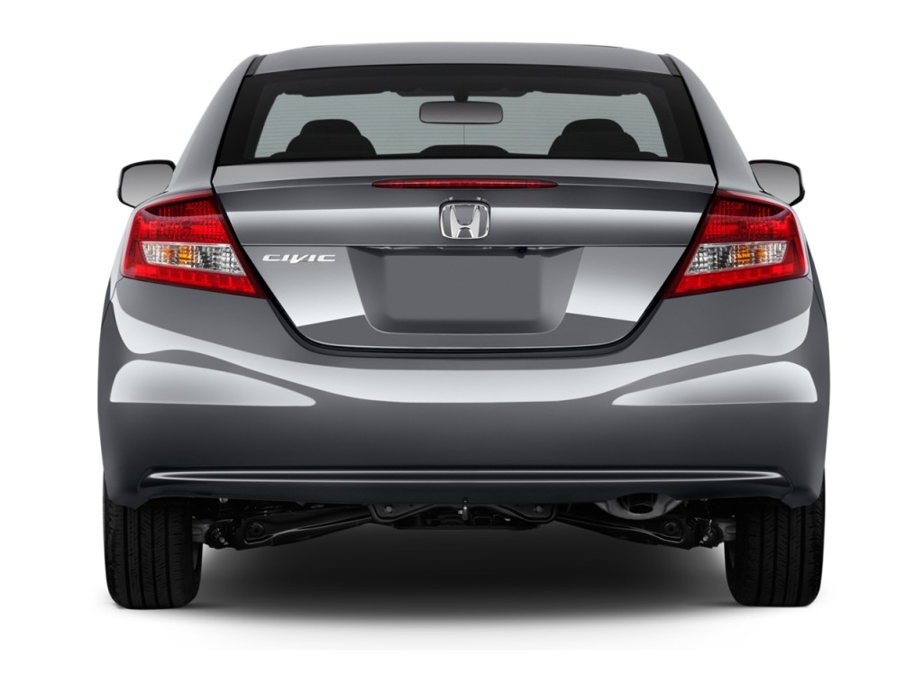 image 2013 honda civic coupe 2 door auto ex rear exterior. Black Bedroom Furniture Sets. Home Design Ideas