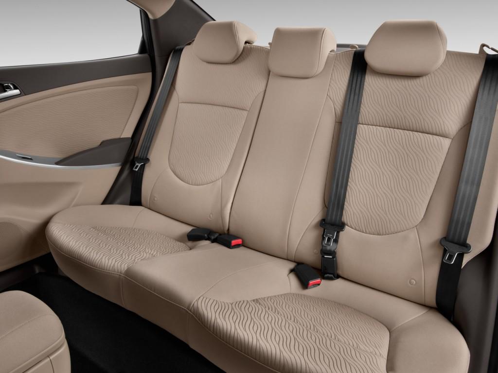 Image 2013 Hyundai Accent 4 Door Sedan Auto Gls Rear