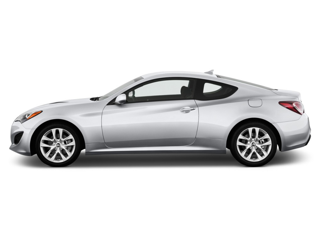 Image 2013 Hyundai Genesis Coupe 2 Door I4 2 0t Auto Side Exterior View Size 1024 X 768 Type