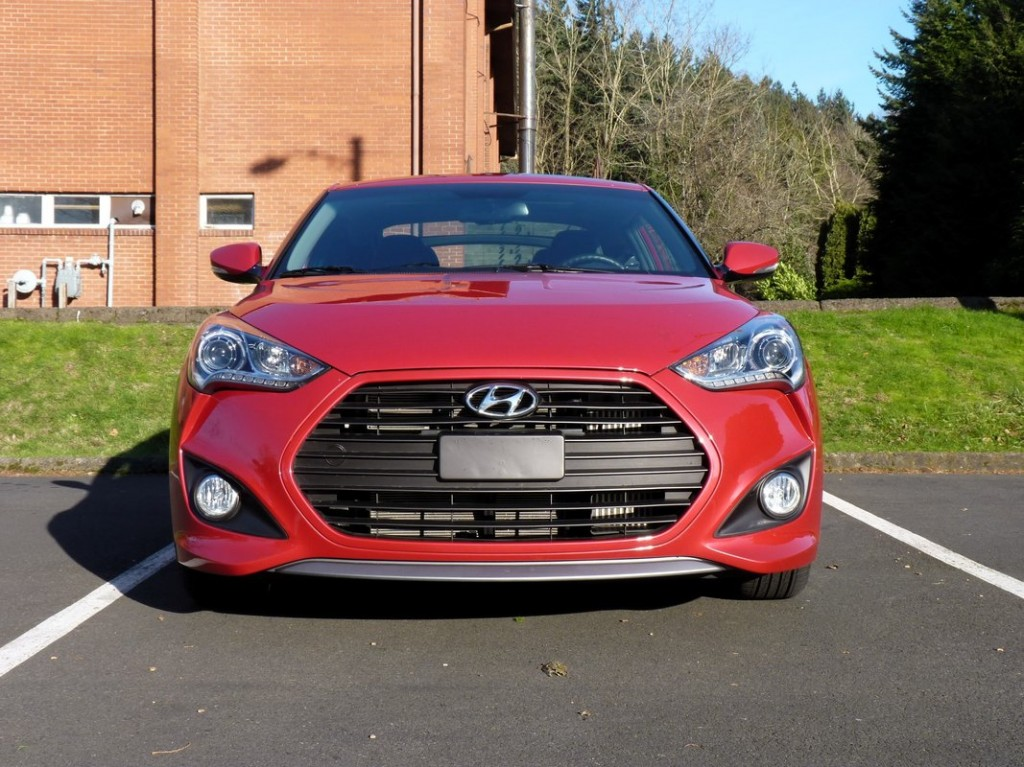 2013 Hyundai Veloster Turbo  -  Driven