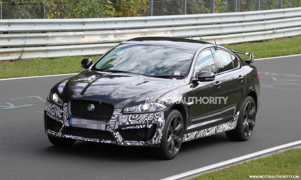 Image: 2013 Jaguar XFR-S spy shots, size: 1024 x 614, type ... | 1024 x 614 jpeg 163kB