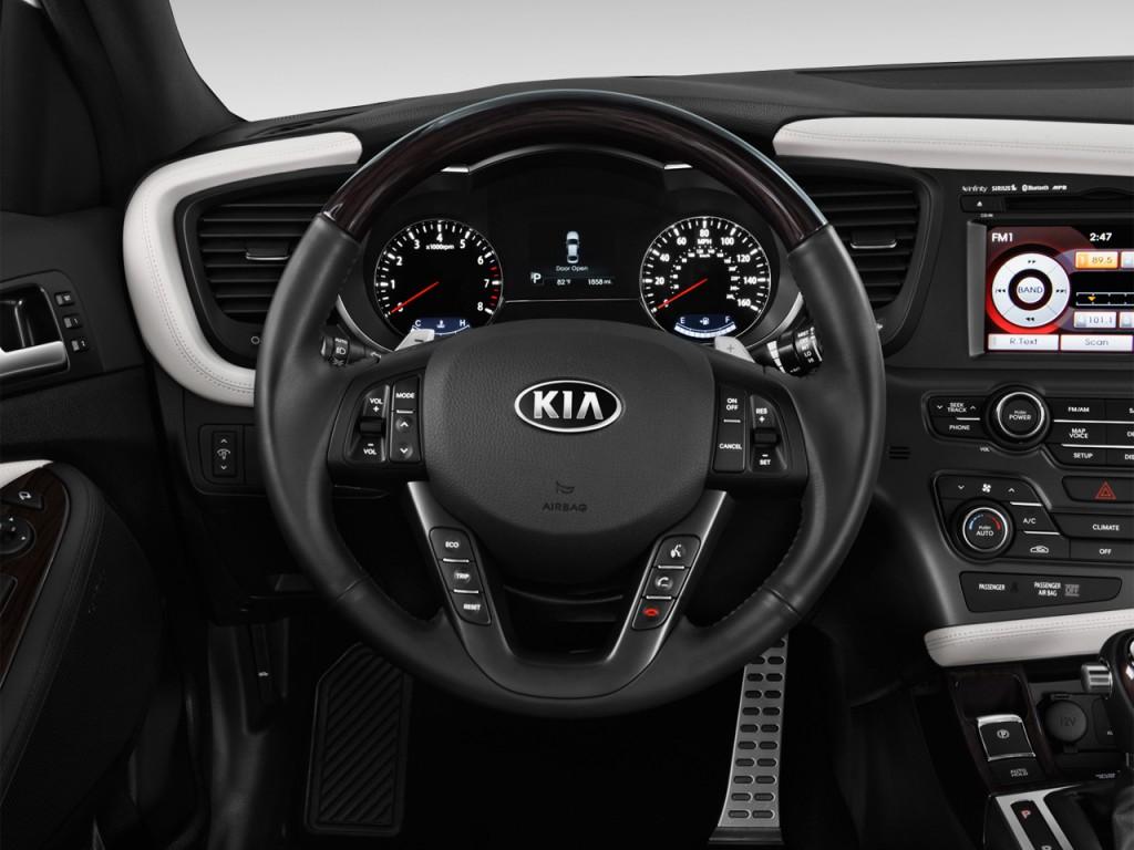 2013 kia optima 4 door sedan sx w limited pkg steering wheel