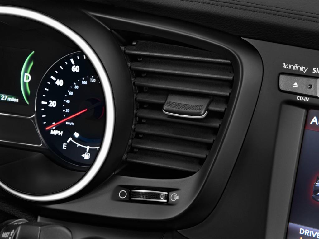 2013 kia optima hybrid 4 door sedan 2 4l auto lx air vents