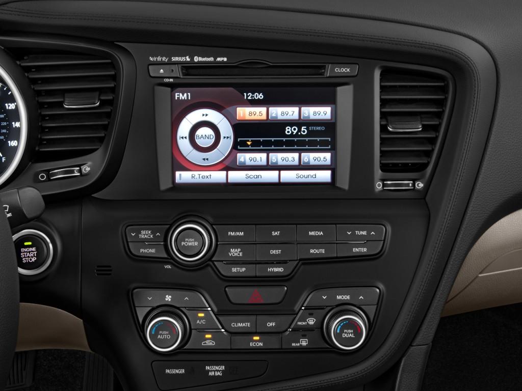 Image 2013 Kia Optima Hybrid 4 Door Sedan 2 4l Auto Lx