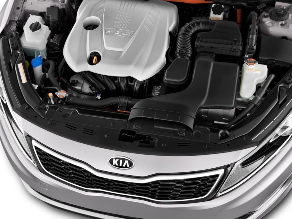 2013 kia optima hybrid 4 door sedan 2 4l auto lx engine