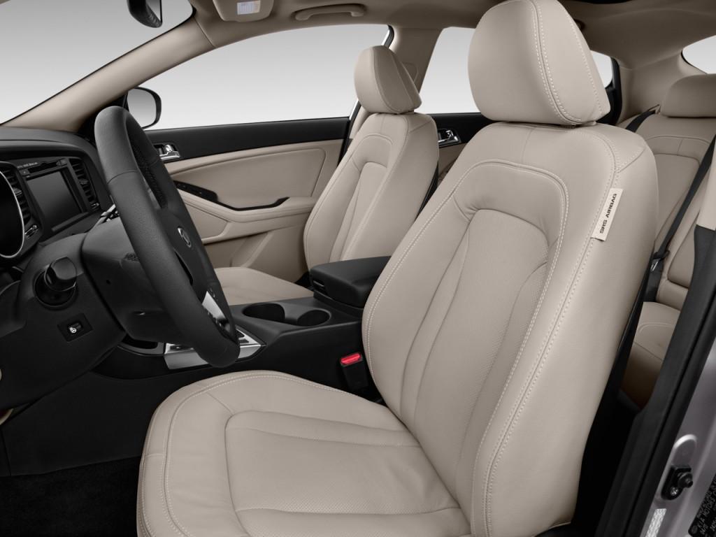 2013 kia optima hybrid 4 door sedan 2 4l auto lx front seats