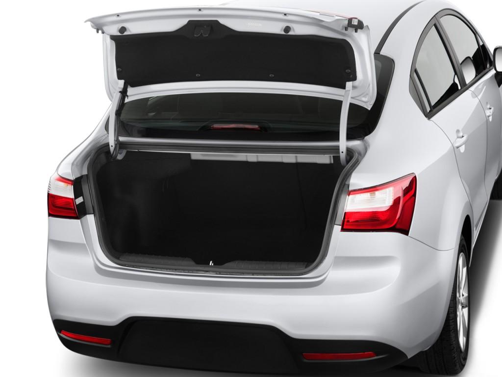 Image 2013 Kia Rio 4 Door Sedan Auto LX Trunk Size 1024