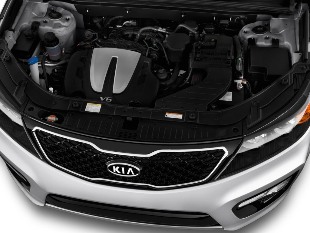 image 2013 kia sorento 2wd 4 door v6 sx engine size. Black Bedroom Furniture Sets. Home Design Ideas