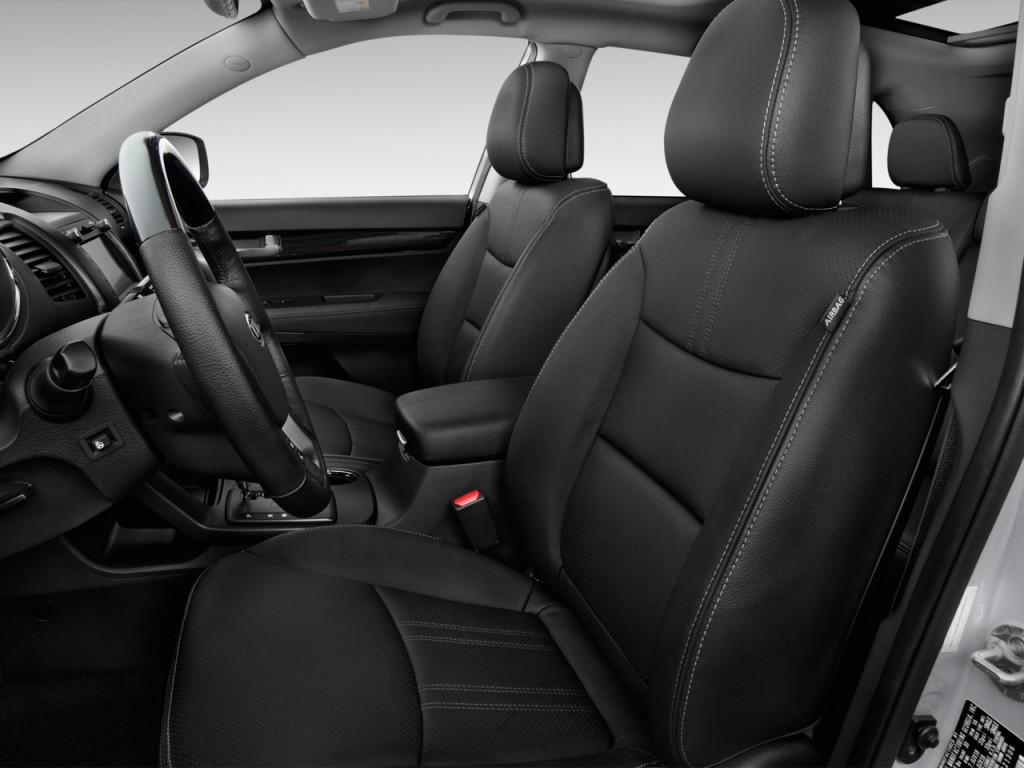 2012 Kia Optima For Sale >> Image: 2013 Kia Sorento 2WD 4-door V6 SX Front Seats, size: 1024 x 768, type: gif, posted on ...
