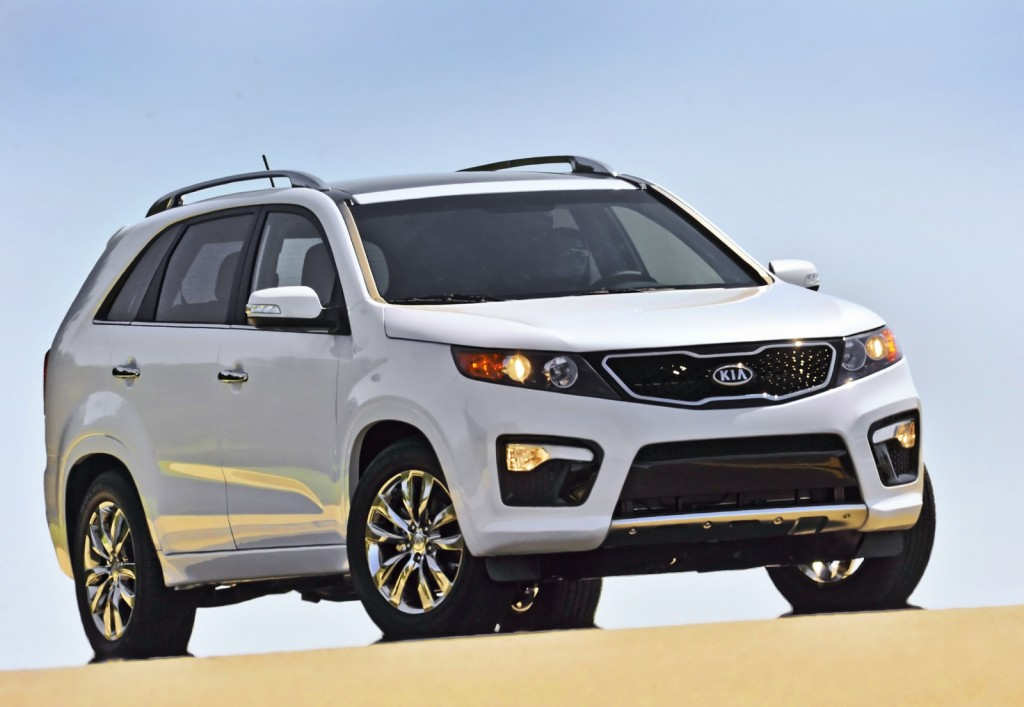 2011-2013 Kia Sorento Recalled To Fix Rollaway Problem: 377,000 U.S. Vehicles Affected