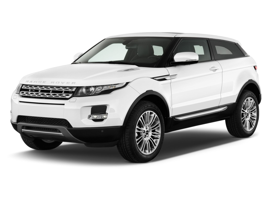 image 2013 land rover range rover evoque 2 door coupe pure plus angular front exterior view. Black Bedroom Furniture Sets. Home Design Ideas