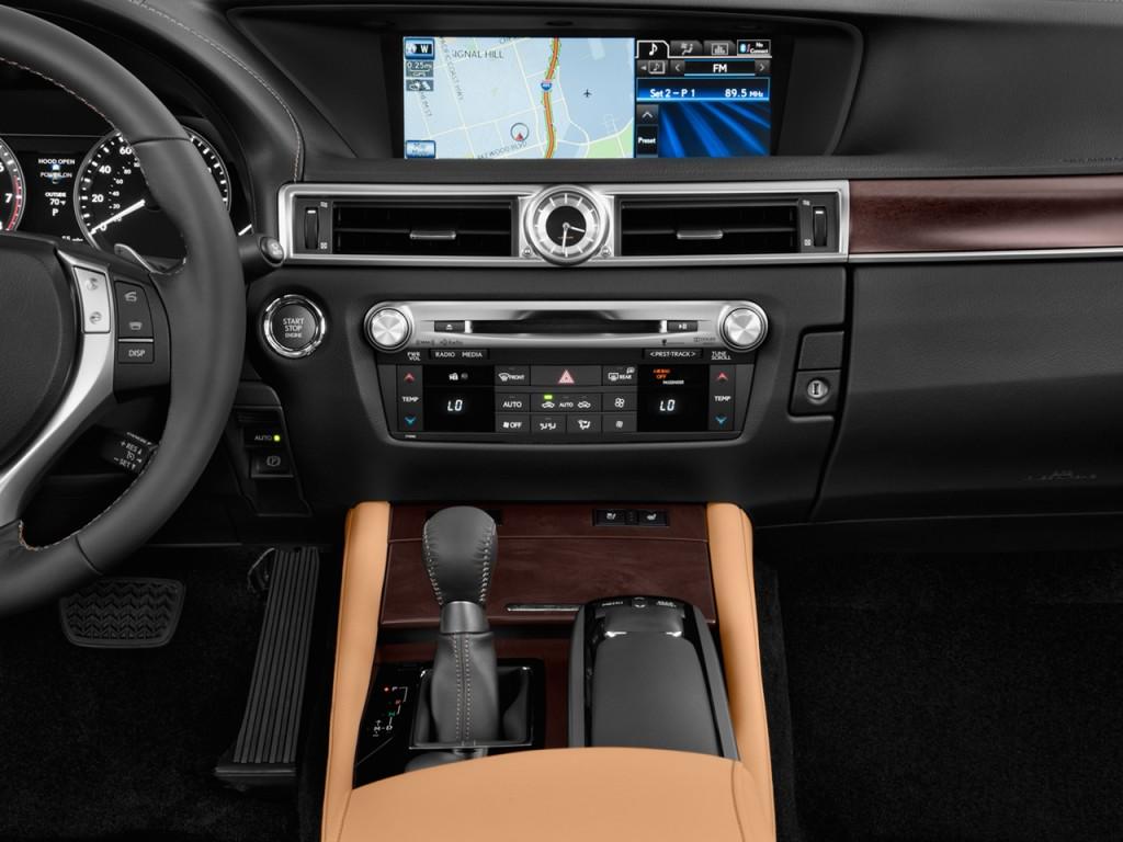 image 2013 lexus gs 350 4 door sedan rwd instrument panel. Black Bedroom Furniture Sets. Home Design Ideas