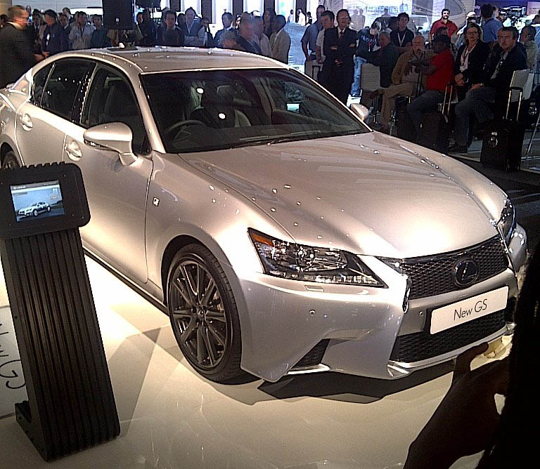 lexus unveils 2013 gs 350 f sport in south africa. Black Bedroom Furniture Sets. Home Design Ideas