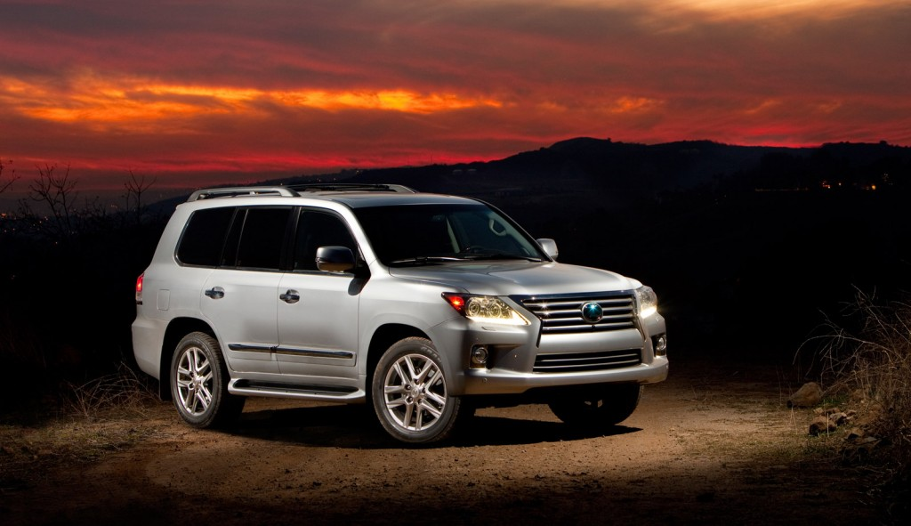 2013 Lexus LX 570 Gets A Price Increase