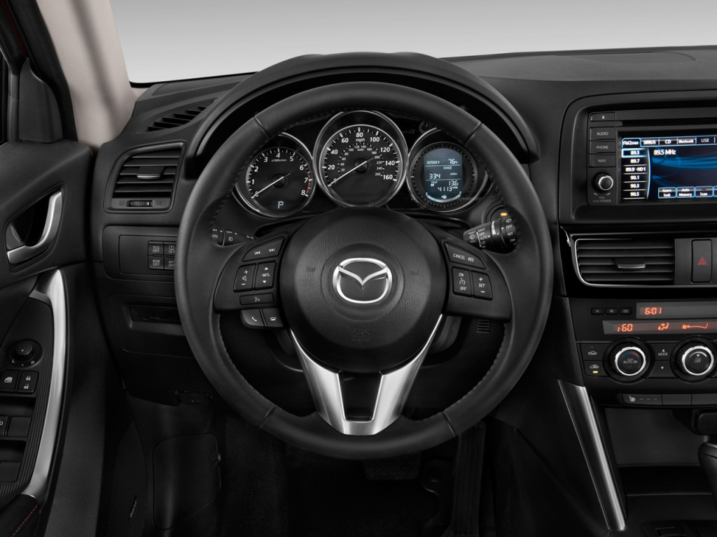2013 Mazda CX-5 FWD 4-door Auto Grand Touring Steering Wheel