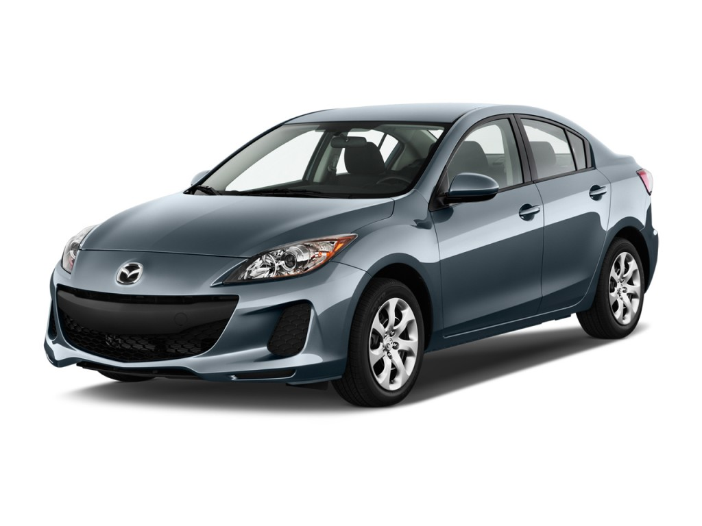 image 2013 mazda mazda3 4 door sedan auto i sv angular. Black Bedroom Furniture Sets. Home Design Ideas