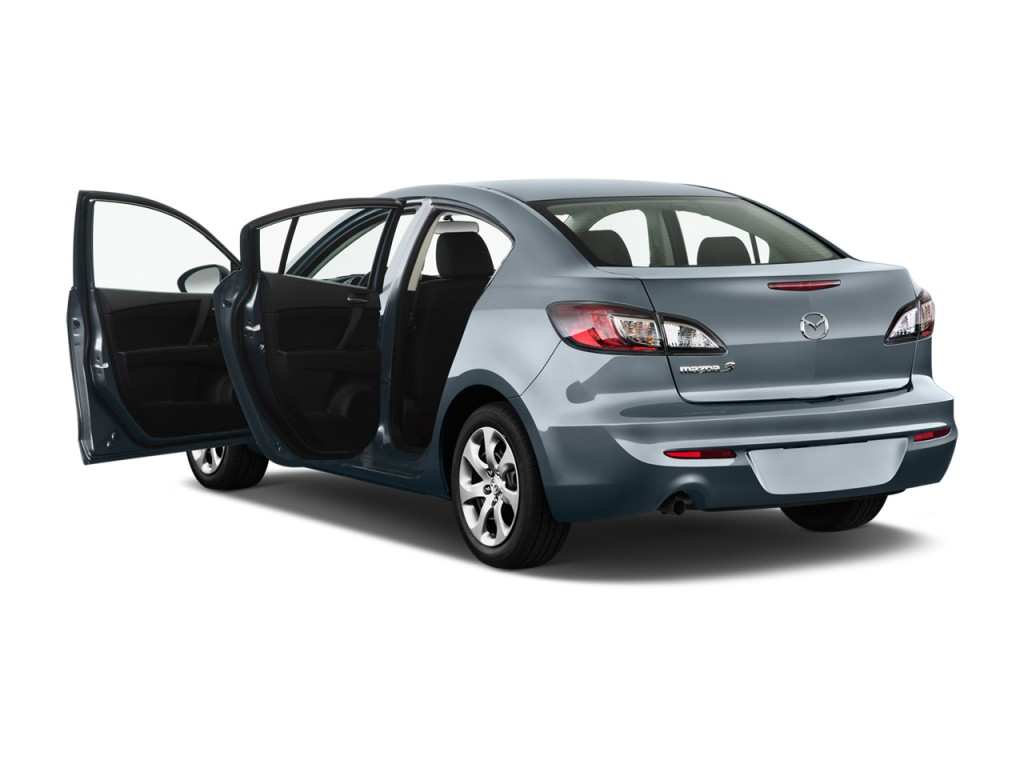image 2013 mazda mazda3 4 door sedan auto i sv open doors. Black Bedroom Furniture Sets. Home Design Ideas