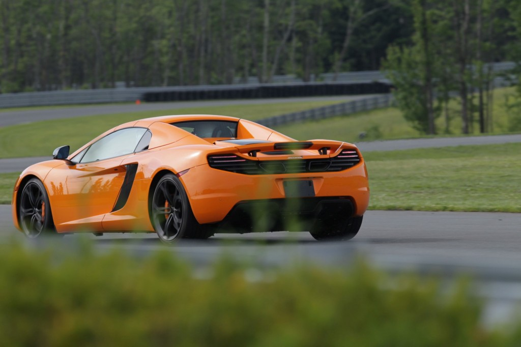2013 McLaren MP4-12C Spider track day