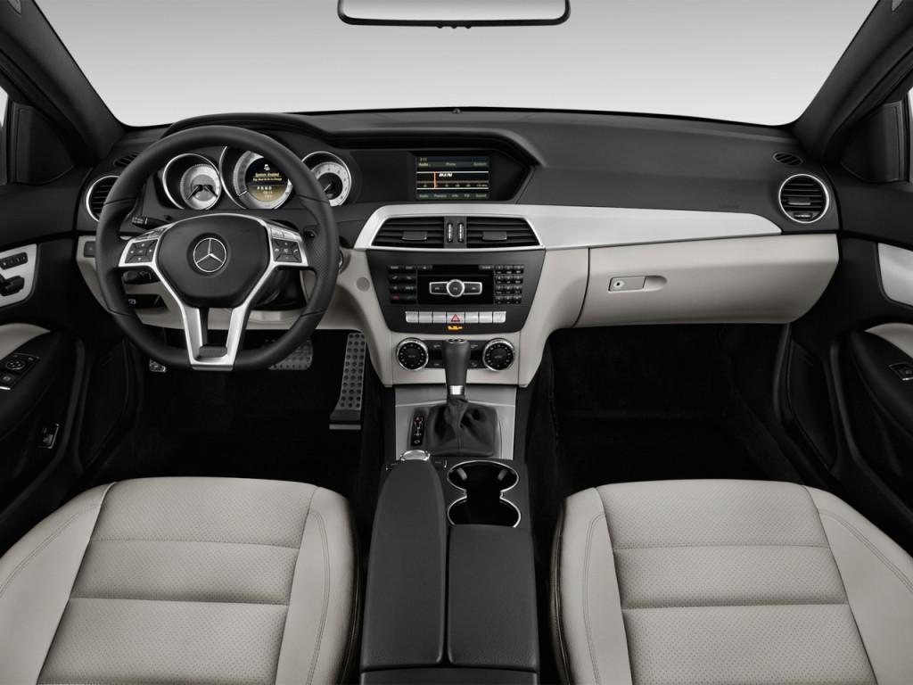 Image 2013 Mercedes Benz C Class 2 Door Coupe C250 Rwd Dashboard Size 1024 X 768 Type Gif