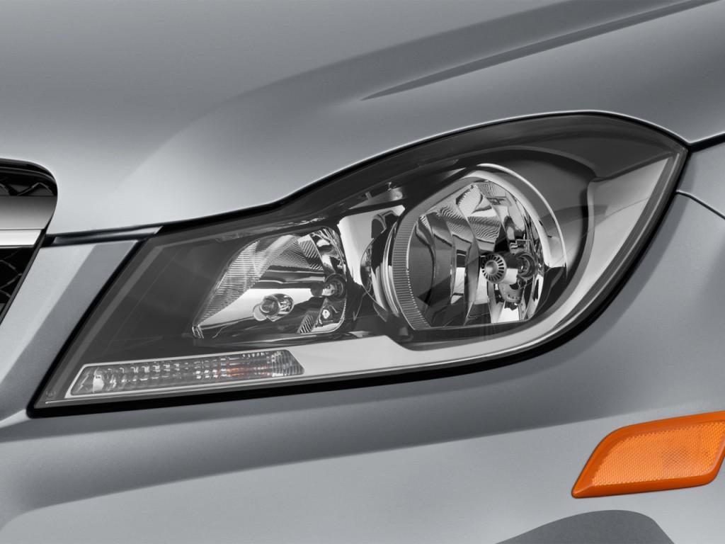 Image 2013 mercedes benz c class 2 door coupe c250 rwd for Mercedes benz c300 headlights