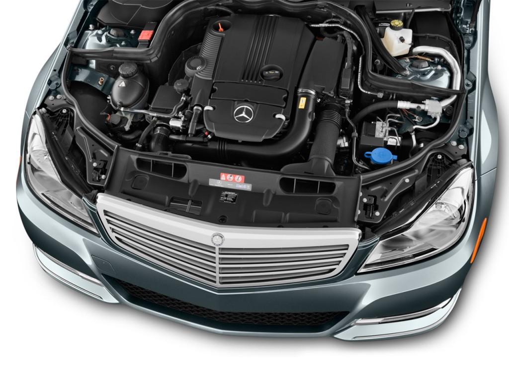 Image 2013 mercedes benz c class 4 door sedan c250 luxury for Mercedes benz c300 engine