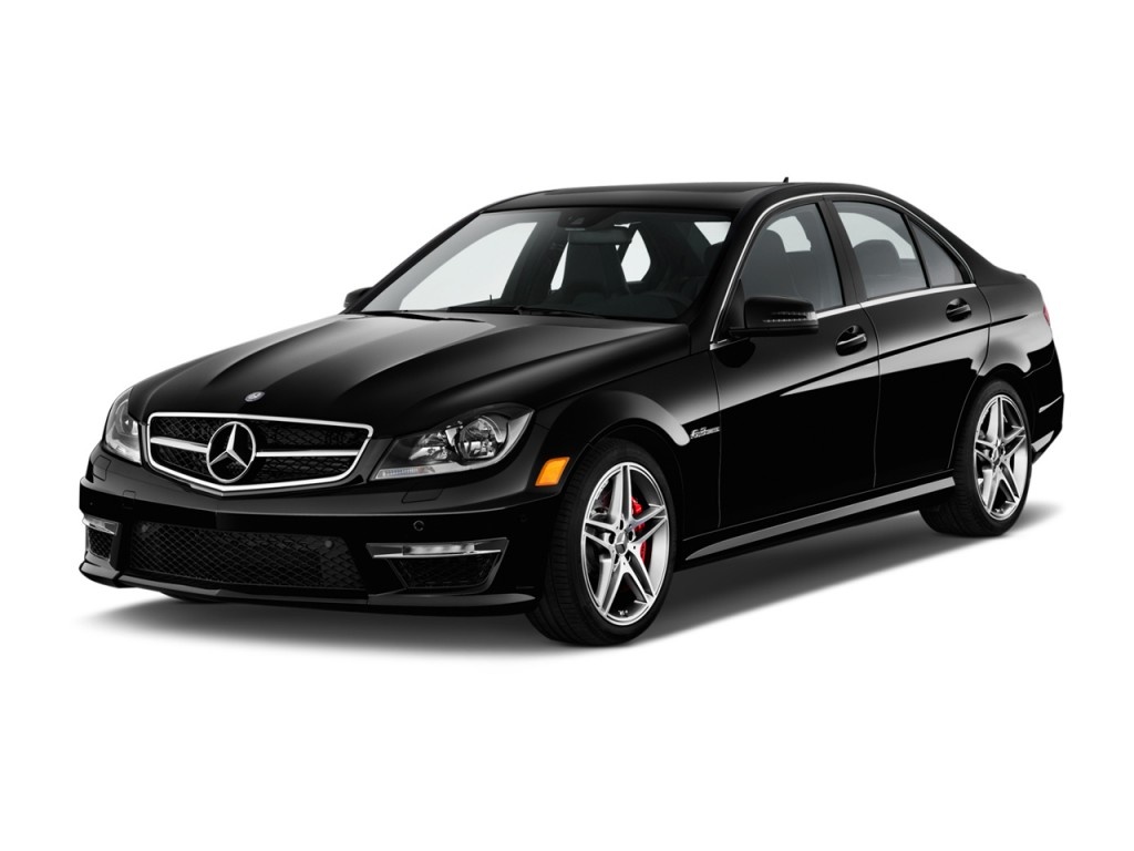 Image 2013 Mercedes Benz C Class 4 Door Sedan C63 Amg Rwd