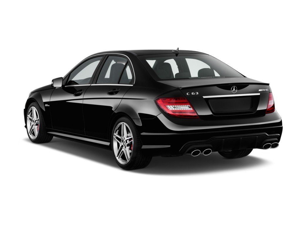 Image 2013 mercedes benz c class 4 door sedan c63 amg rwd for 2013 mercedes benz c class sedan