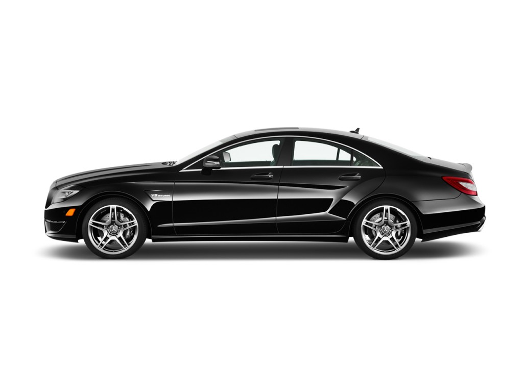 2013 Mercedes-Benz CLS Class 4-door Sedan CLS63 AMG RWD Side Exterior View