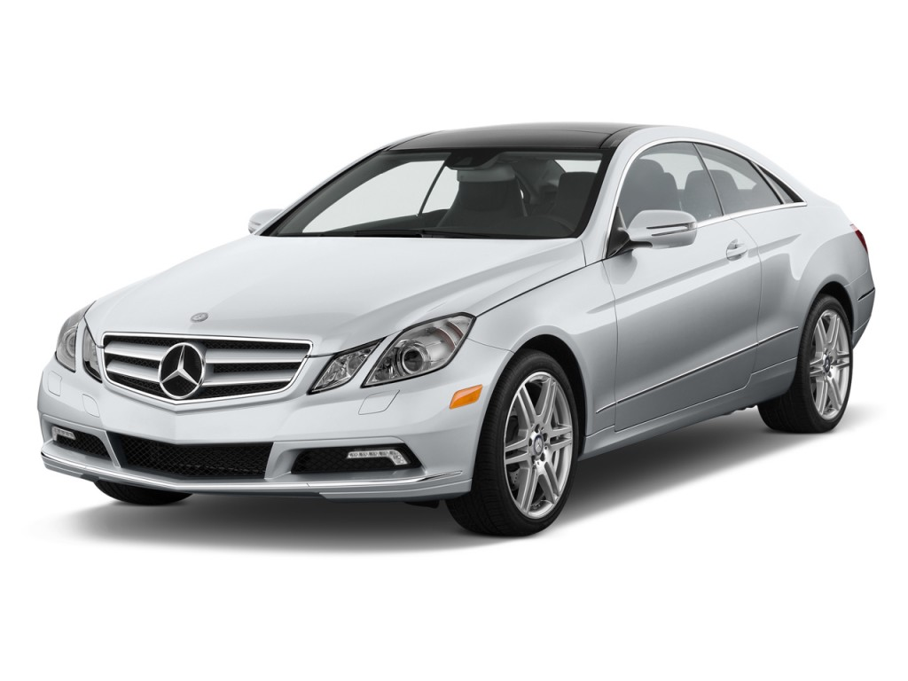 2013 Mercedes-Benz E Class 2-door Coupe E350 RWD Angular Front Exterior View