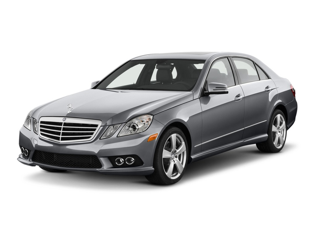 2013 Mercedes-Benz E Class 4-door Sedan E350 Sport RWD Angular Front Exterior View