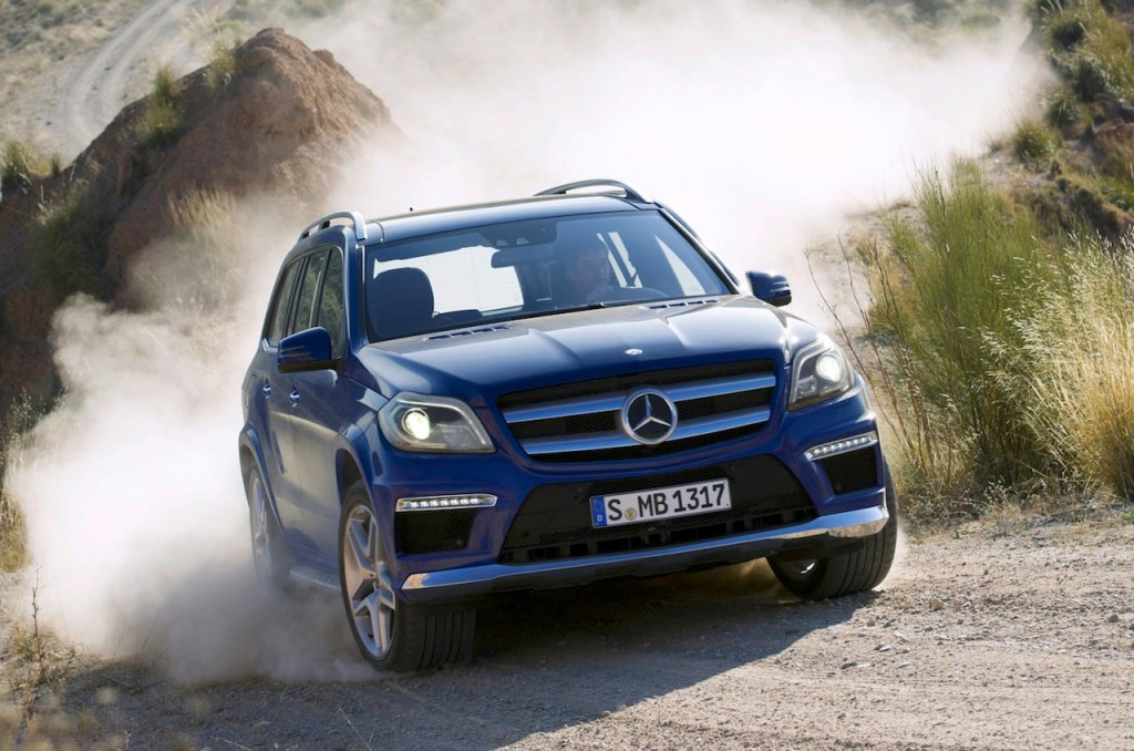 2013 Mercedes-Benz GL Class leaked images