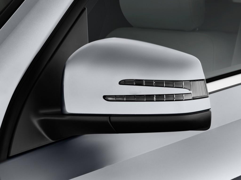 Image 2013 mercedes benz m class rwd 4 door ml350 mirror for Mercedes benz mirror