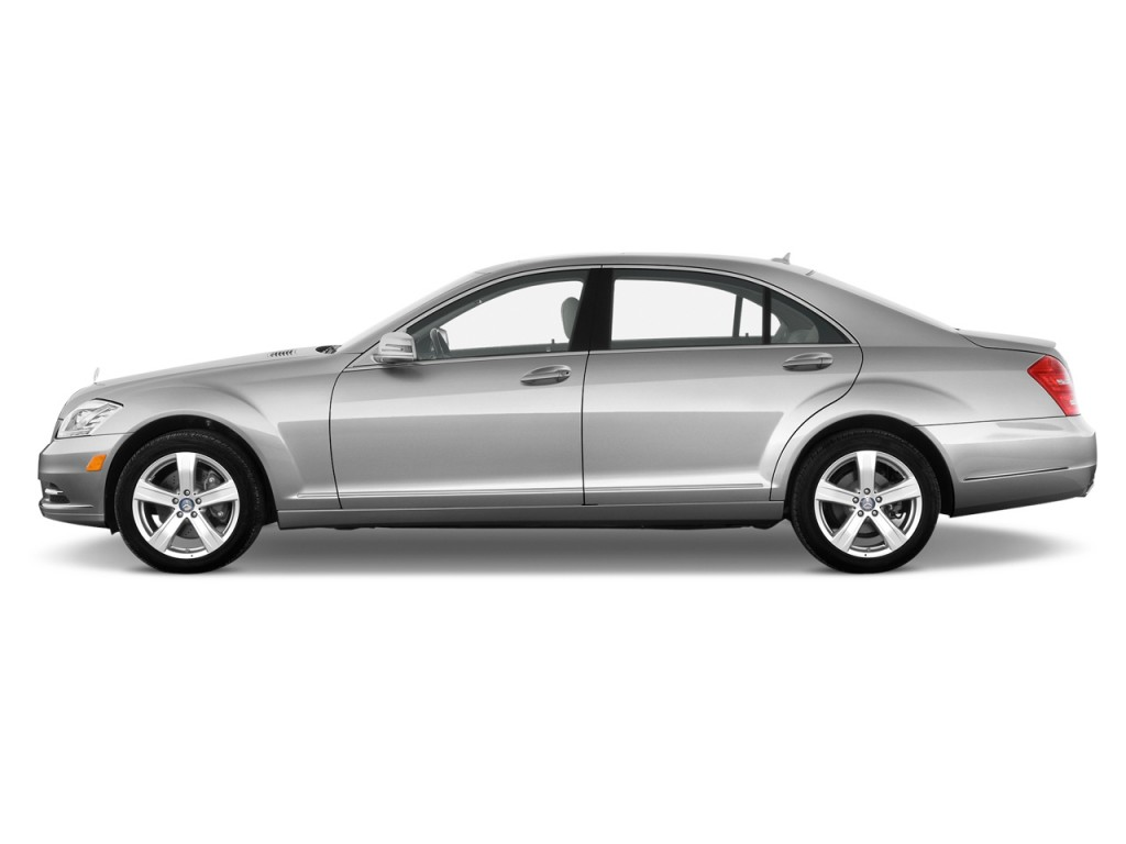 2013 Mercedes-Benz S Class 4-door Sedan S550 RWD Side Exterior View