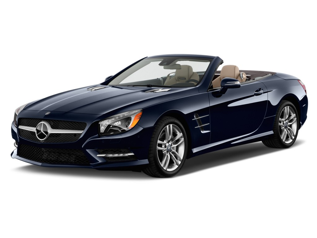 2013 Mercedes-Benz SL Class 2-door Roadster SL550 Angular Front Exterior View