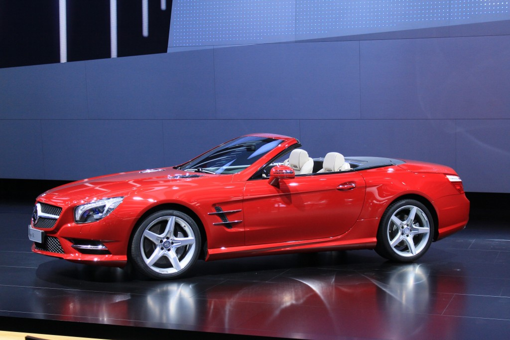 2013 Mercedes-Benz SL Class live photos