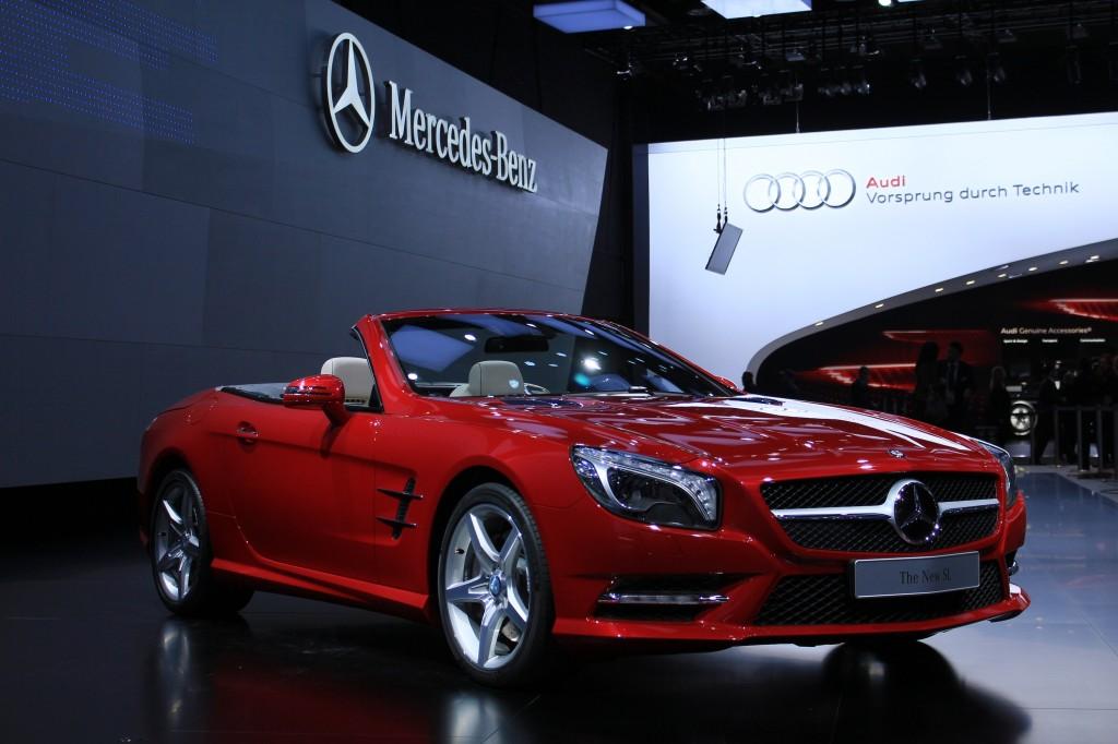 2013 Mercedes-Benz SL Class live photos