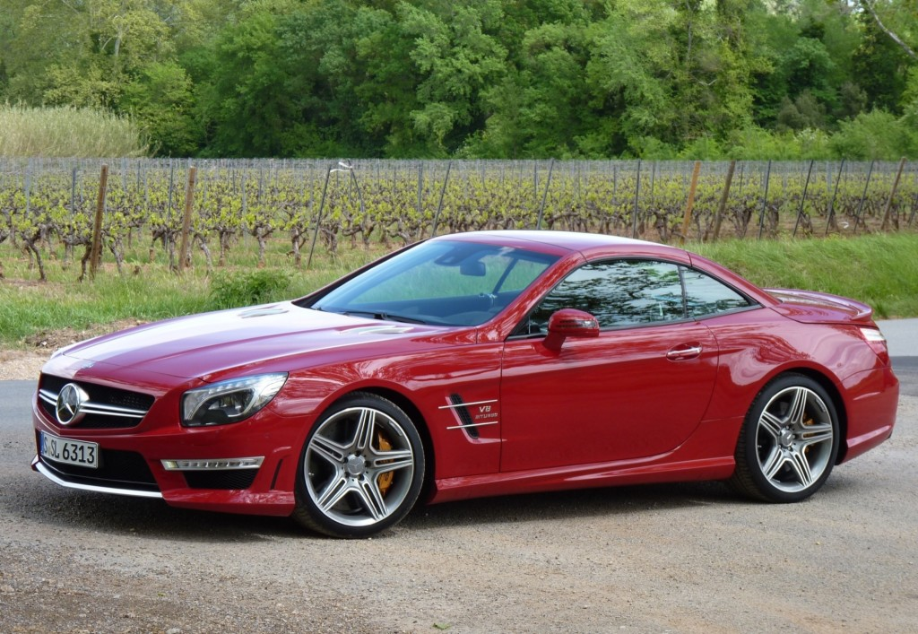 Image 2013 mercedes benz sl63 amg first drive april for 2013 mercedes benz sl class sl63 amg
