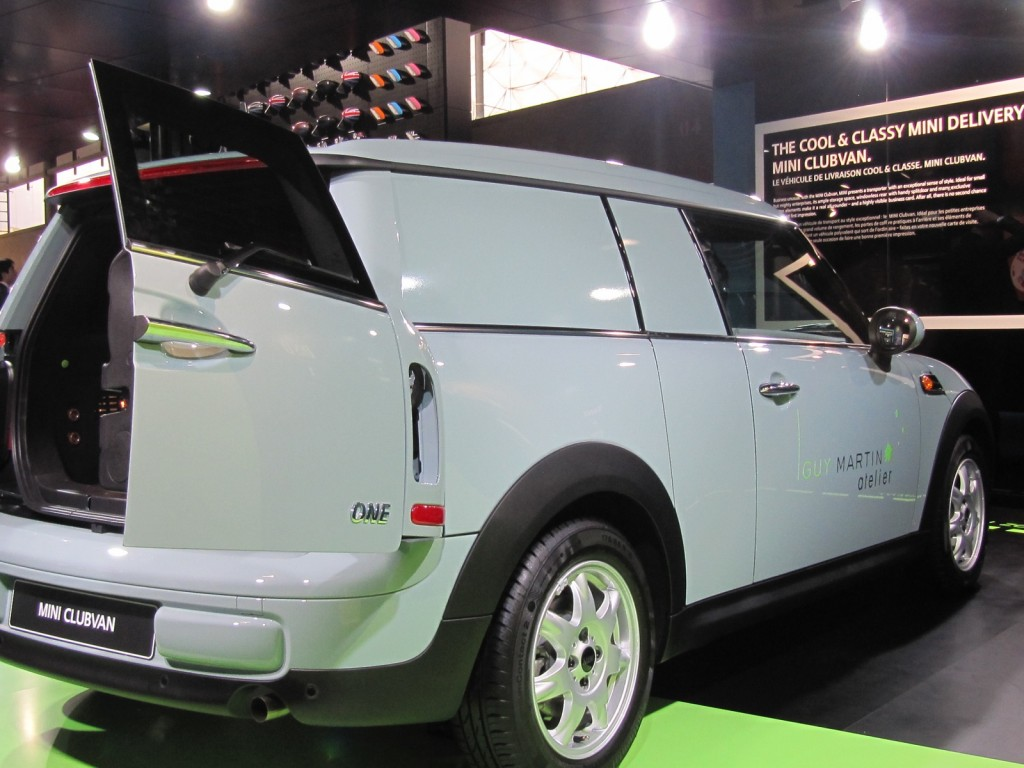 2013 MINI Clubvan (European model) at 2012 Paris Auto Show
