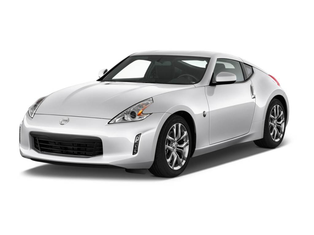 2013 Nissan 370Z 2-door Coupe Auto Angular Front Exterior View