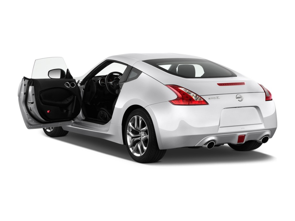 2013 Nissan 370Z 2-door Coupe Auto Open Doors